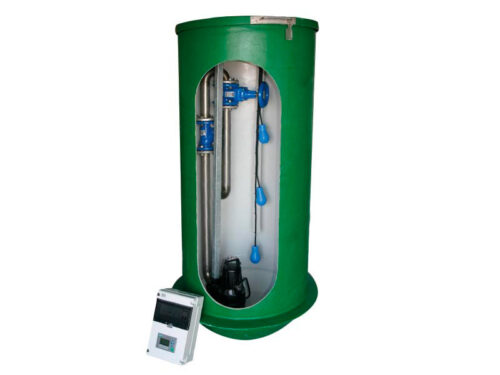 Pumping Stations with Grundfos Pumps